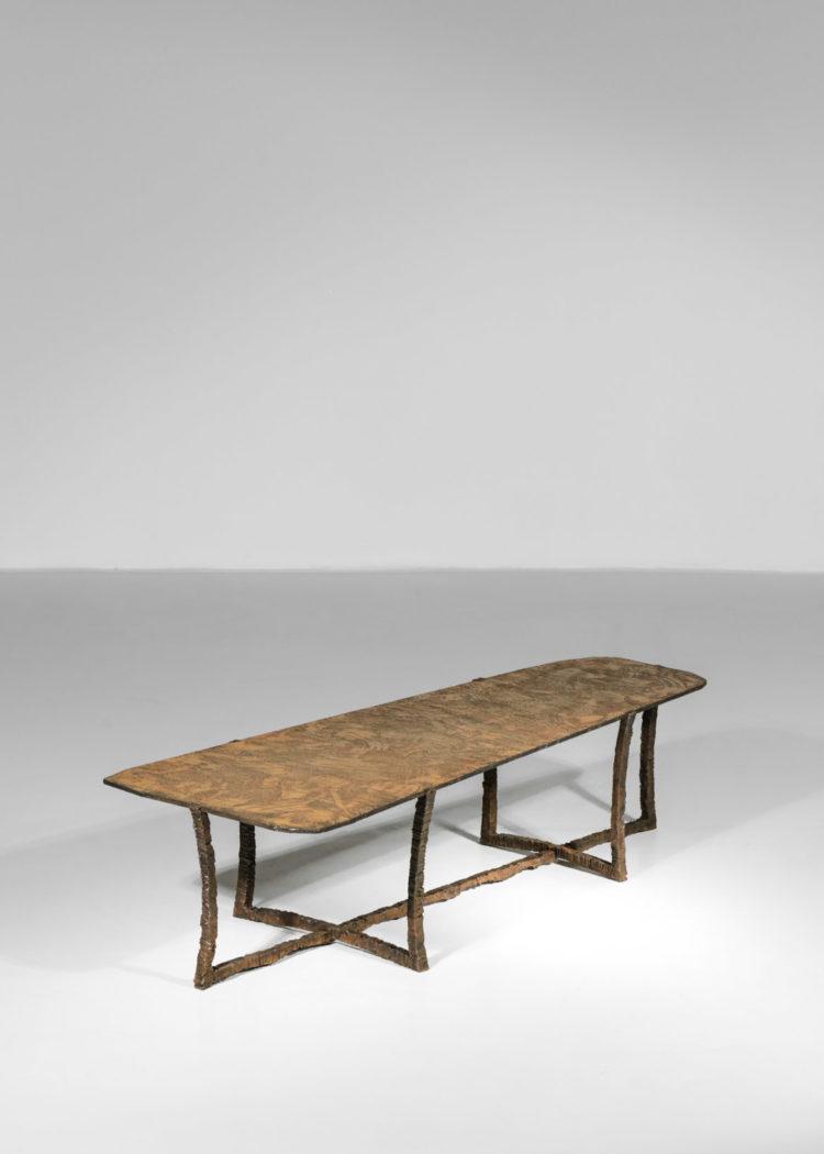 Studio Danke Galerie table basse creation Bryan parlati fer forgé bronze47