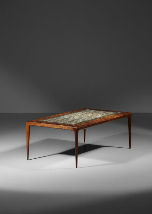 Table basse johannes Andersen danoise scandinave ceramique royale copenhague 16