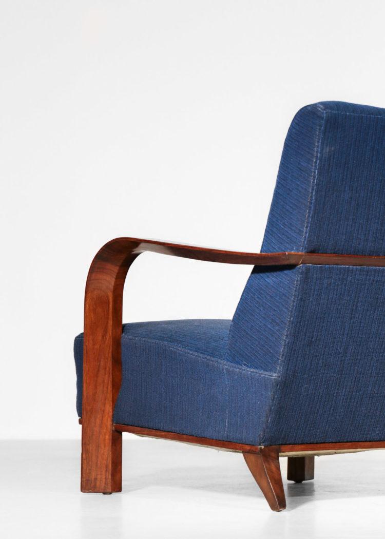 fauteuil art deco style leleu ou emilie rhulmann chauffeuse 4