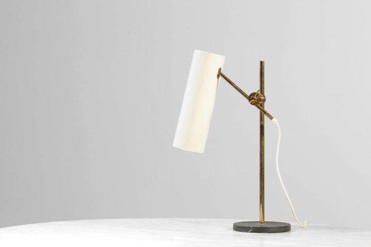 lampe de table de bureau vintage design années 60
