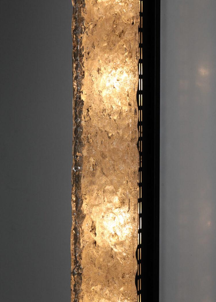 Grande applique dallux francaise vintage années 50 verre