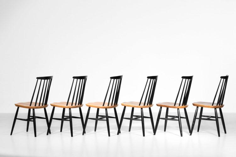 suite de 6 chaise ilmari tapiovaara 9