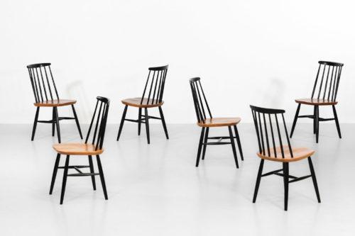 suite de 6 chaise ilmari tapiovaara 4