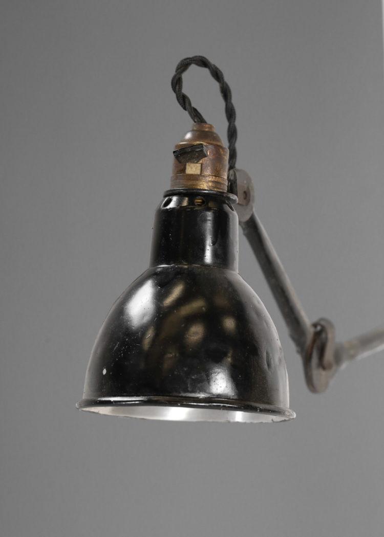 Lampe Gras Modele 203 Ancien Applique Potence Telescopique 12