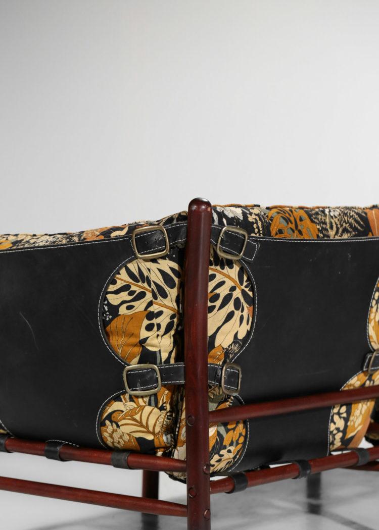 banquette safari arne norell vintage suedois scandinave canapé