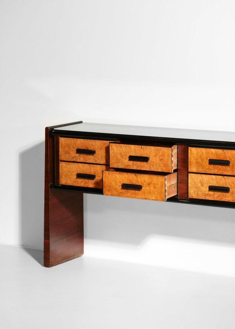buffet console italienne vintage design années 60 11