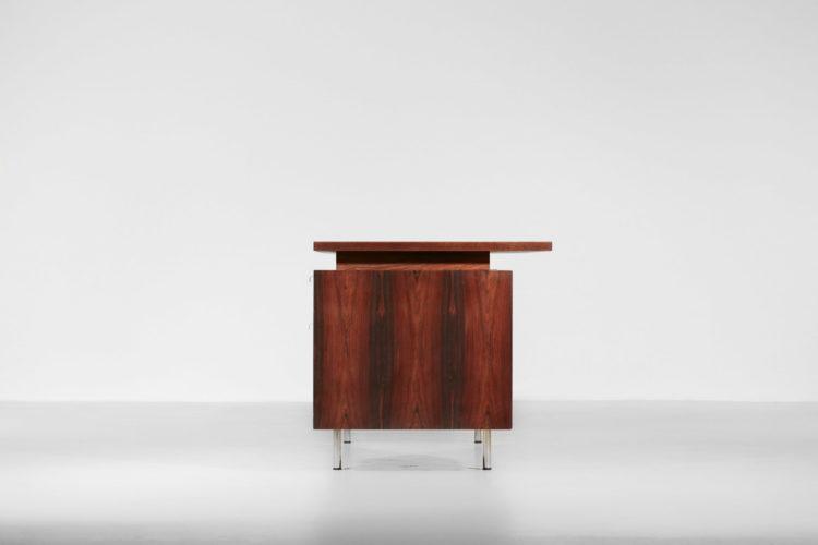 bureau george Nelson vintage années 60 palissandre design americain