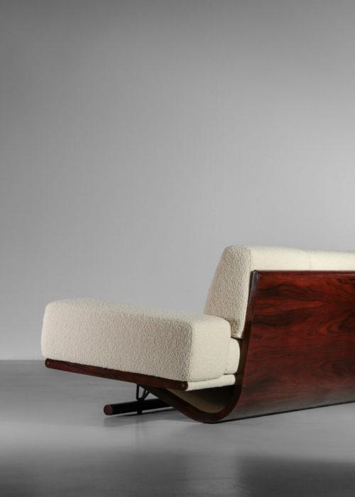 canapé banquette vintage design années 60 palissandre de rio pierre paulin19