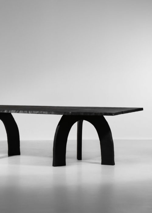 grande table à manger vincent vincent bois brulé design 39