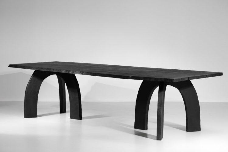 grande table à manger vincent vincent bois brulé design 59