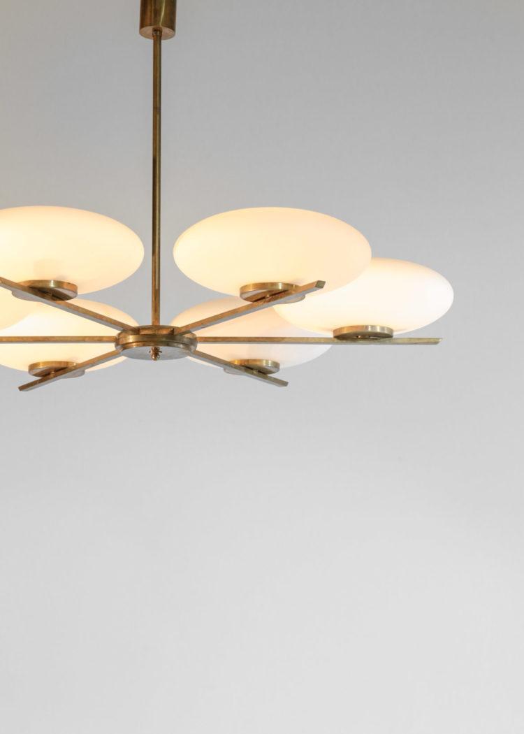 lustre suspension italienne angelo lelli vintage design gio ponti10