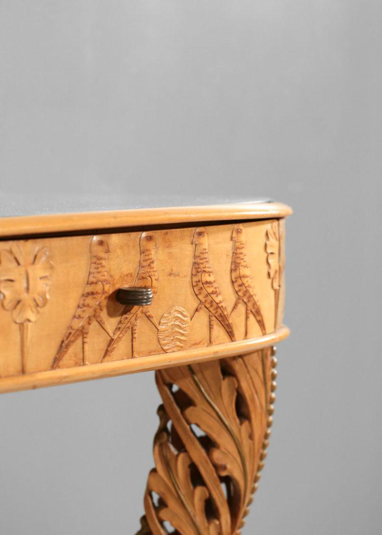 pier luigi colli console italienne miroir design italien