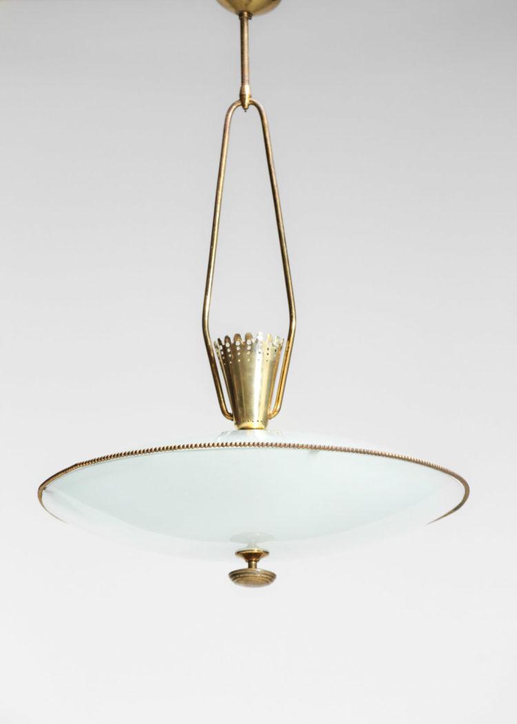 pietro chiesa lustre suspension verre fontana arte italienne vintage 17