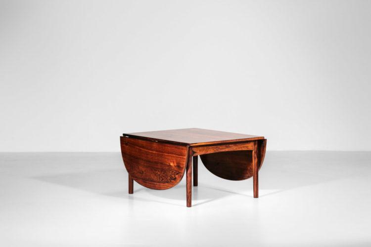 table basse arne vodder danoise scandinave palissandre de rio vintage15