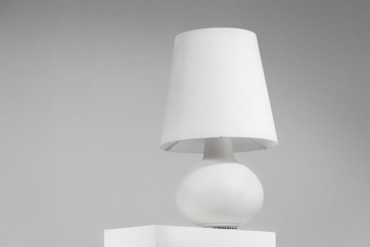 Grand modele de lampe fontana arte par max ingrand opaline 2