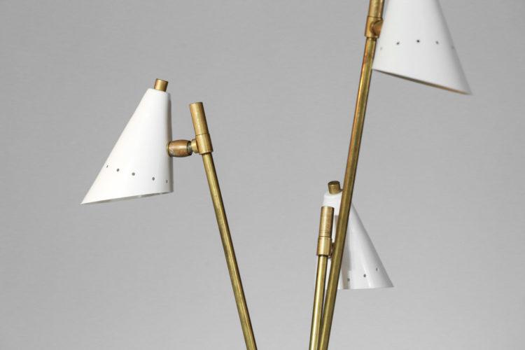 lampe de chevet ou de bureau moderne style gino sarfatti 3 diffuseurs6
