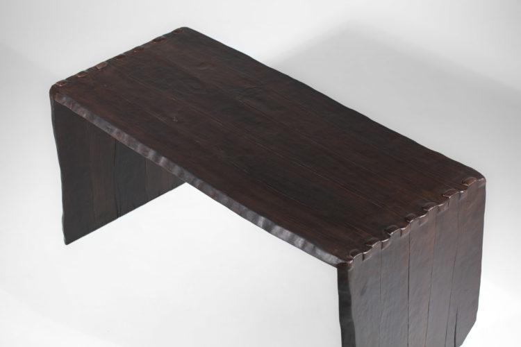 bureau 100:20 vincent vincent bois brulé table à manger15