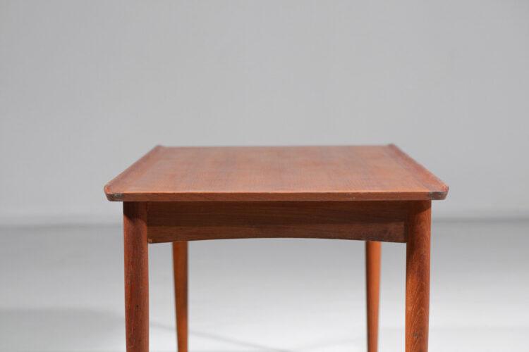 petite table basse danoise en teck scandinave chamt relevé0