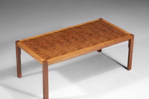 table basse danoise rolf Middelboe pour tranekaer en bois massif scandinave