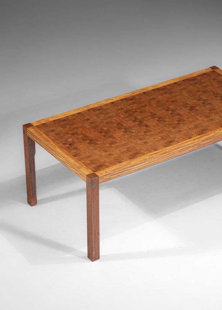 table basse danoise rolf Middelboe pour tranekaer en bois massif scandinave4