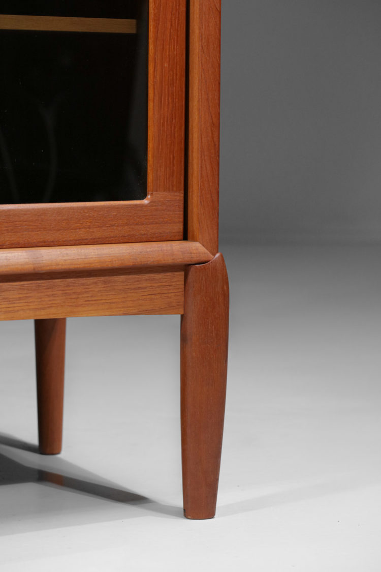 vitrine danoise bramin vintage scandinave teck - E369