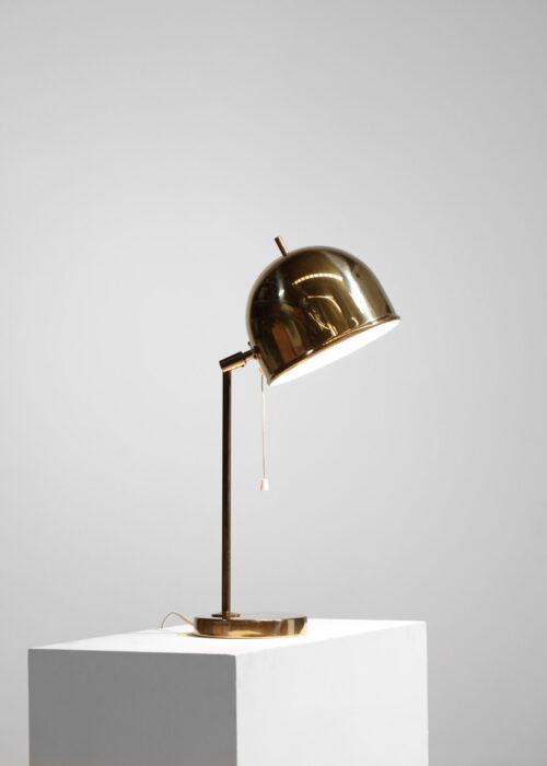 lampe de table suedoise bergbom vintage années 60