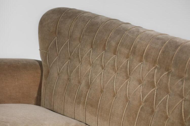 Canapé Gio ponti sofa design italien années 50 F109