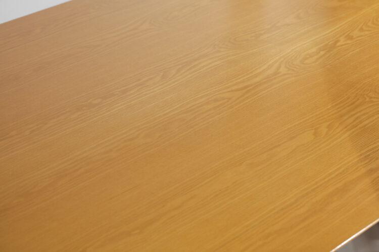 grande table à manger italienne saporiti années 70 E413