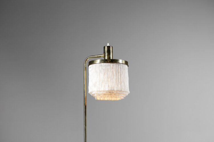 lampe de table hans agne jakobsson frange blanche années 60 suedoise E553