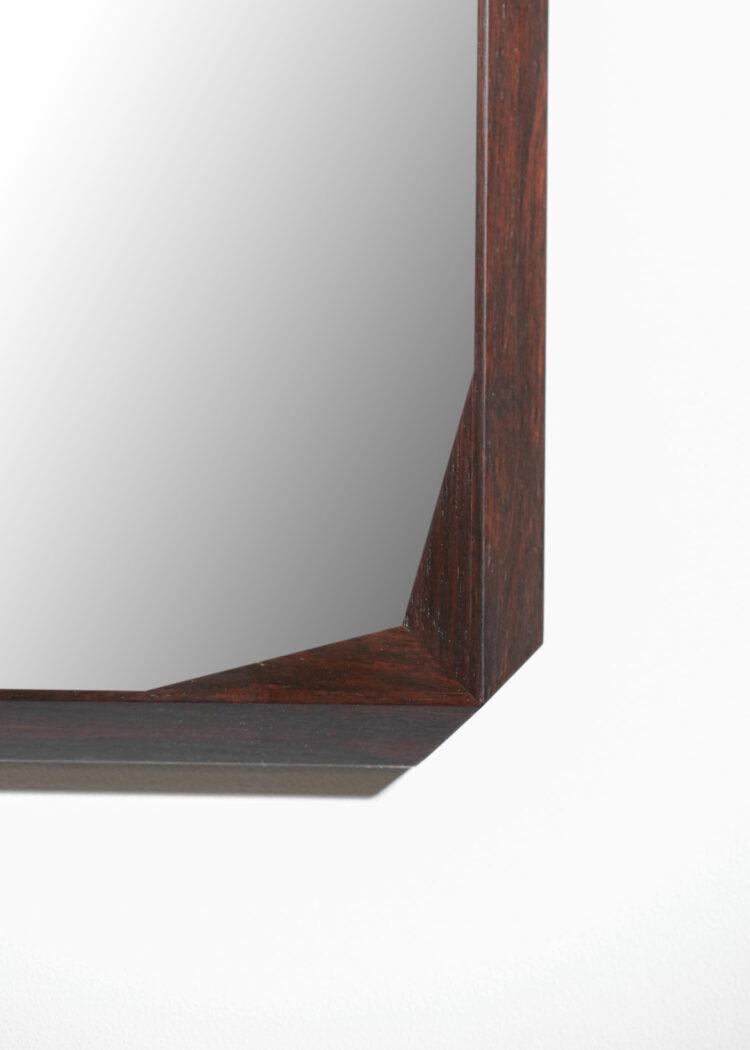 miroir italien en palissandre E396