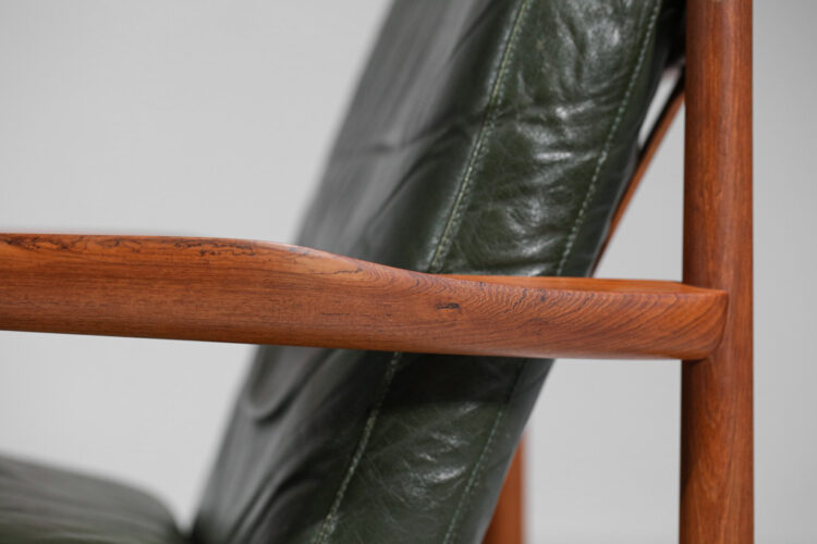 paire de fauteuil arne vodder en teck glostrup années 60 F135