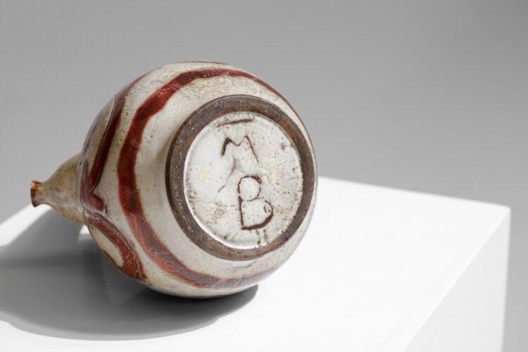 Pichet verseuse chevette en ceramique pour Max Boissaud Vallauris années 60 F150
