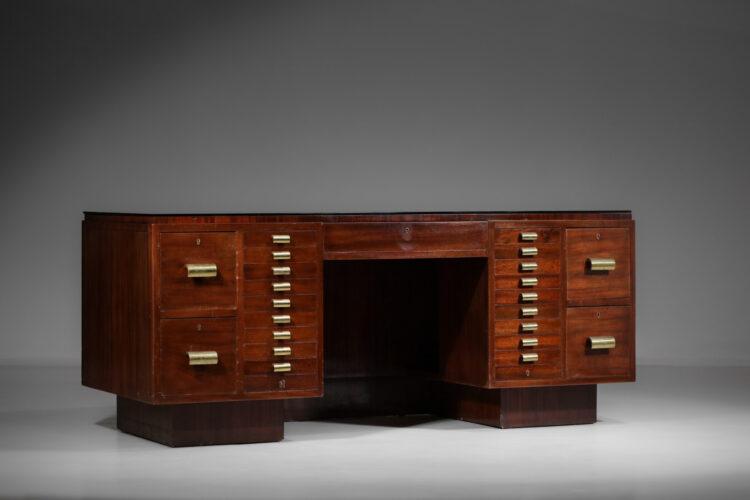 grand bureau moderniste francais années 40 E498