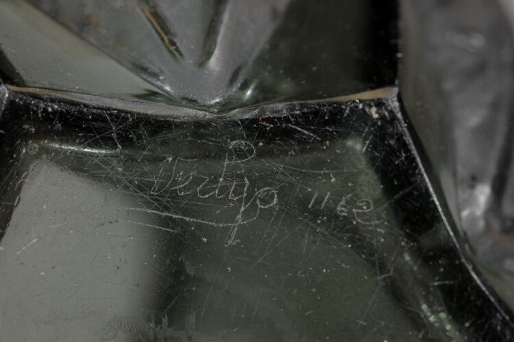grand vase en verre Verlys