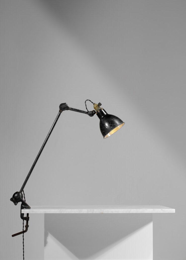 lampe d'atelier etau albert albin gras le corbusier F009
