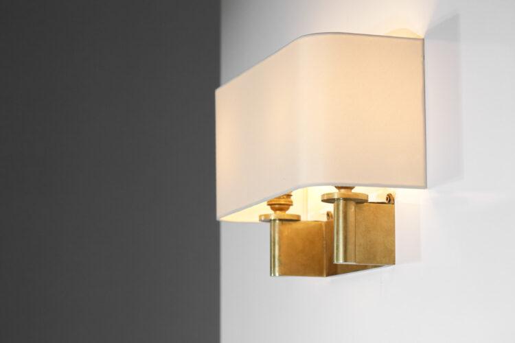 paire d_appliques art deco en bronze doré style jacques quinet E074 E075