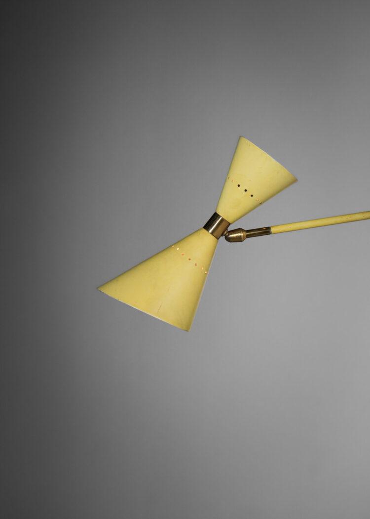petite potence italienne jaune stillux années 50 E432