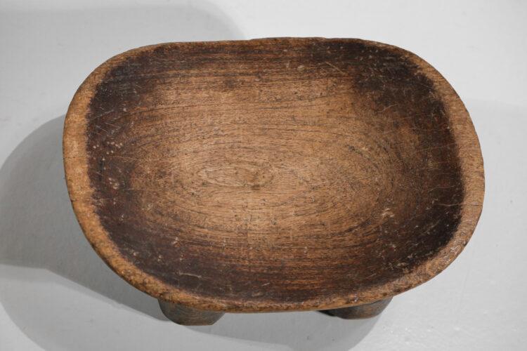petits tabouret africain senoufo dogon en bois massif années 60