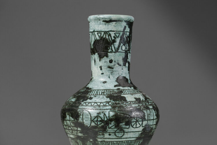 vase jacques blin en ceramique des années 60 D398