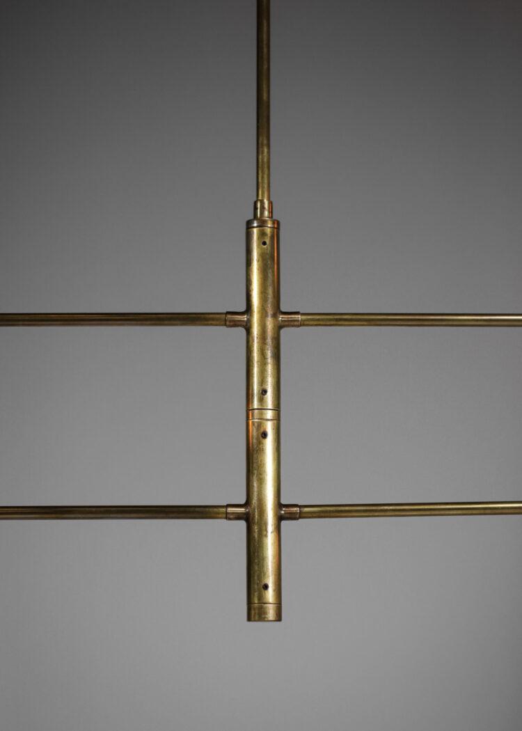 "Suspension italienne moderne balancier design vintage stilnovo ""Girouette"""