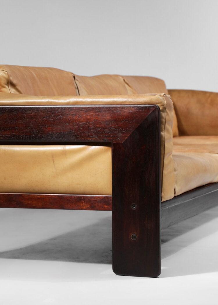 Canapé 3 places en cuir Bastiano par Tobia Scarpa