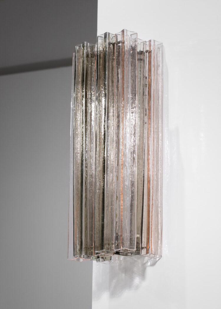 Grande paire applique Barovier Toso vintage verre Murano 73