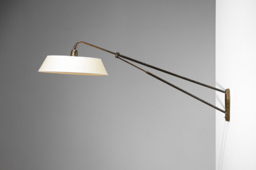 Lampe potence années 50 vintage