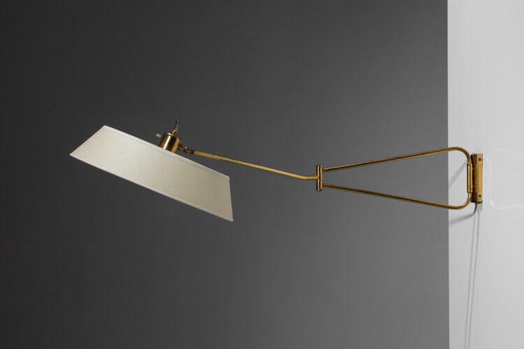 lampe potence Lunel années 60 design vintage