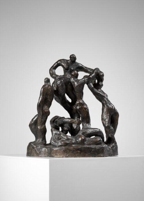 sculpture en Bronze de Gloria Marina artiste