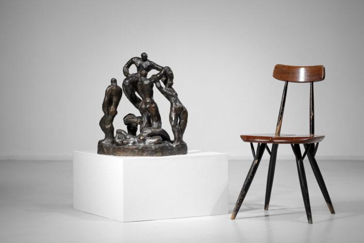 sculpture en Bronze de Gloria Morena 1977