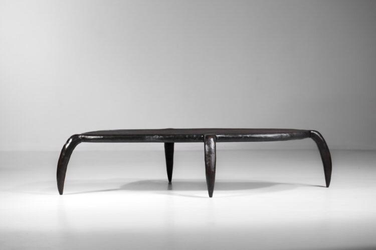 table basse bestiale par vincent vincent design bois brulé15
