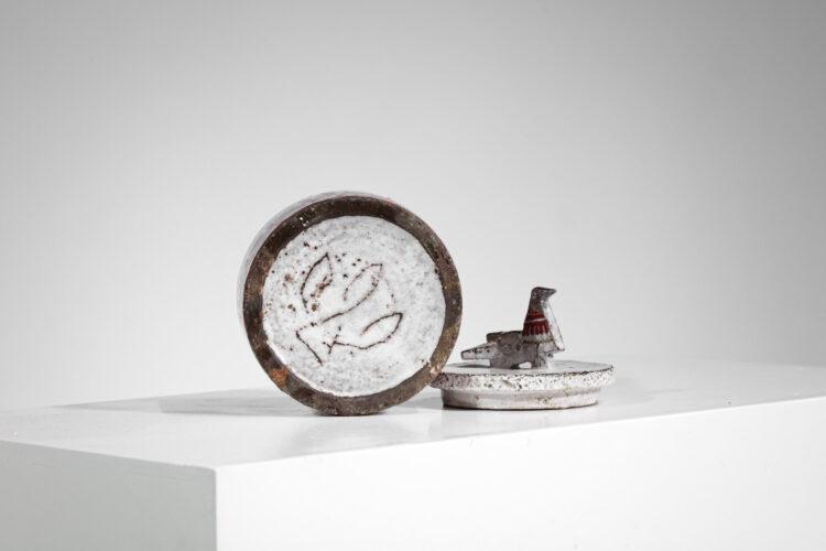 pot en céramique Jean Derval atelier du portail vallauris années 60