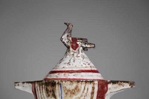 pot en ceramique jean derval vallauris atelier du portail