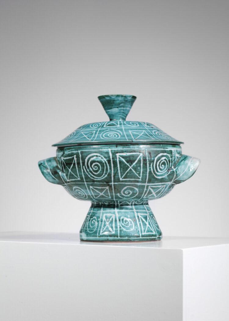 soupière en céramique par Robert Picault vallauris - F363
